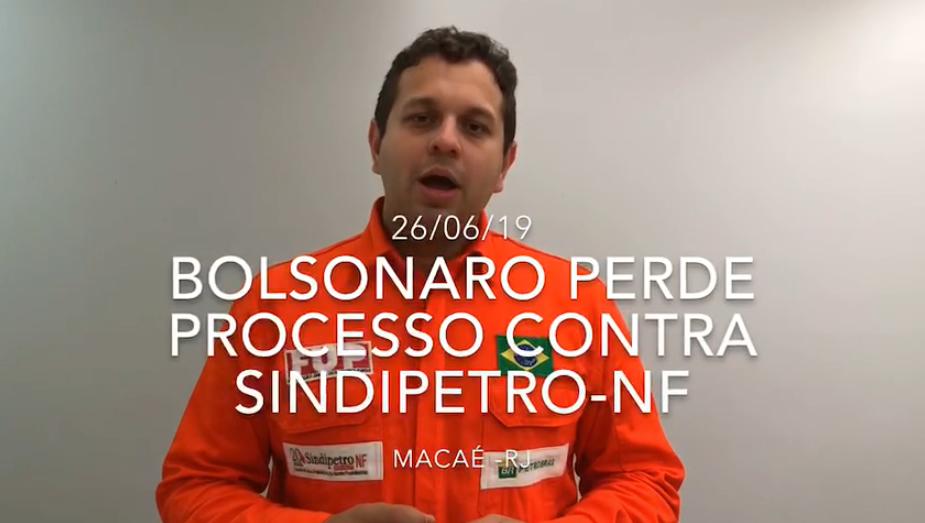 TSE considera improcedente denúncia de Bolsonaro contra o Sindipetro-NF