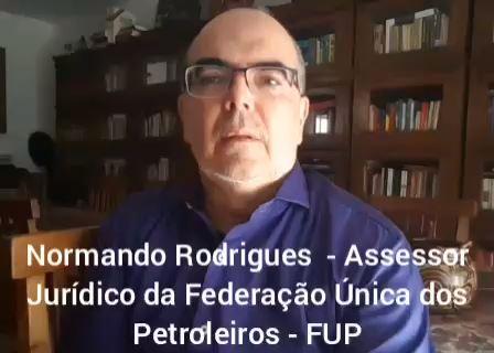 Normando: Petroleiros devem ficar tranquilos e firmes
